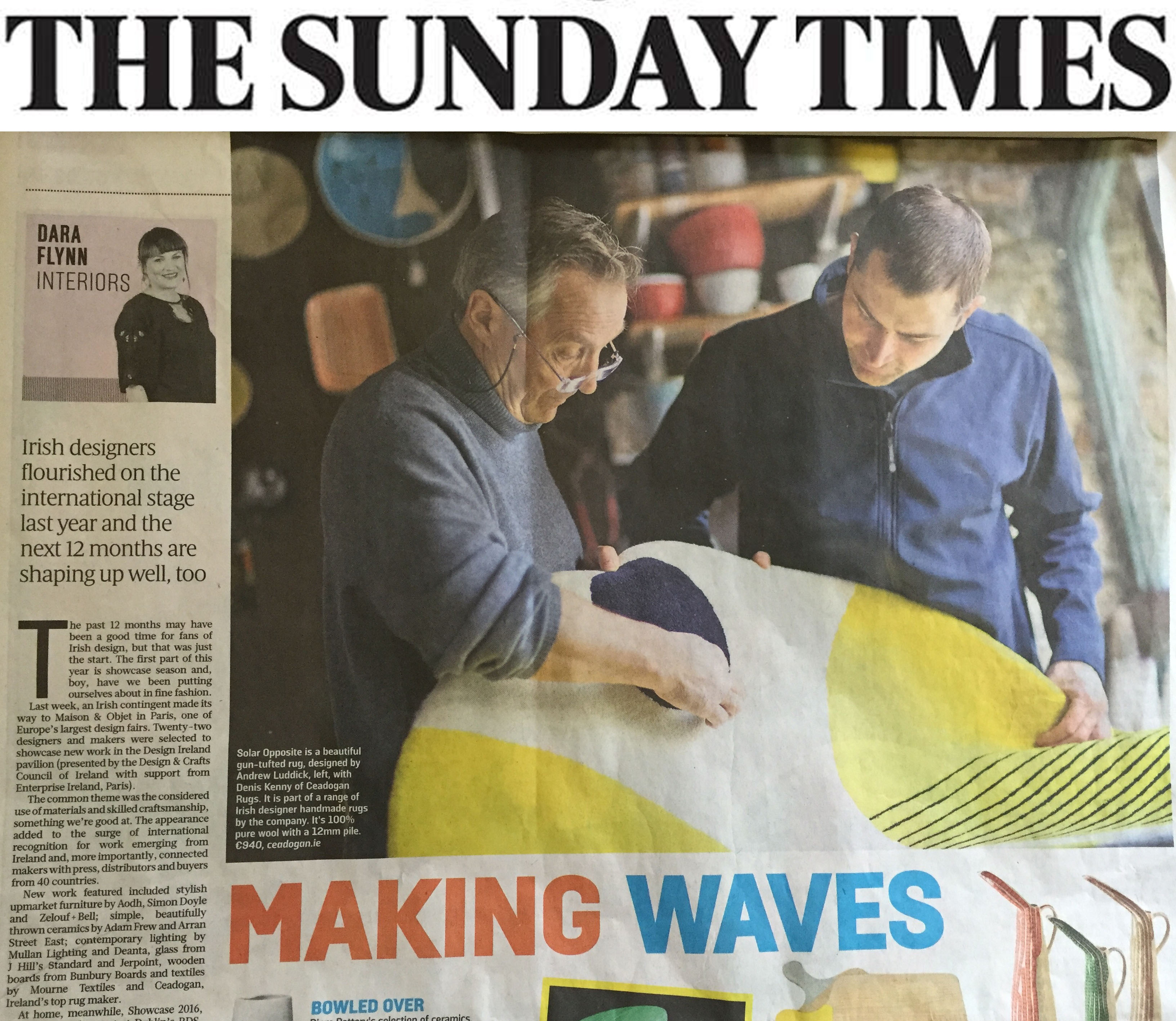 Sunday Times pic
